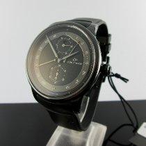 Jaquet-Droz Astrale Керамика 44mm Черный Aрабские