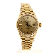 Rolex 6517 Yellow gold Oyster Perpetual Lady Date 25mm pre-owned