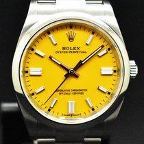 Rolex Oyster Perpetual 36 Acero 36mm Amarillo Sin cifras España, Barcelona