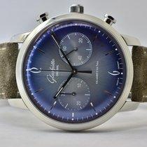 Glashütte Original Acier Remontage automatique Bleu Arabes 42mm occasion Sixties Chronograph
