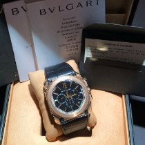 Bulgari Rose gold Automatic Black 41mm new Octo