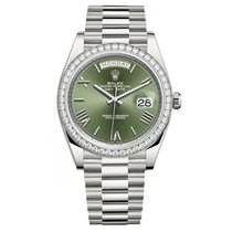 Rolex Oro blanco 2019 Day-Date 40mm usados