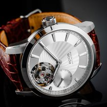 Epos pre-owned Manual winding 42mm Silver Sapphire crystal