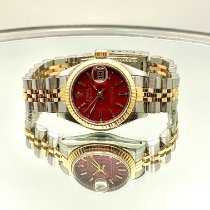 Rolex Lady-Datejust 69173 Muito bom Ouro/Aço 26mm Automático