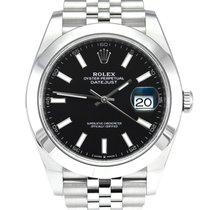 Rolex Datejust 126300 Πολύ καλό Ατσάλι 41mm Αυτόματη