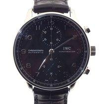 IWC Portuguese Chronograph Acero 41mm Negro Arábigos España, ALICANTE
