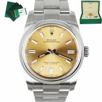 Rolex Oyster Perpetual 36 Steel 36mm White United States of America, New York, Smithtown