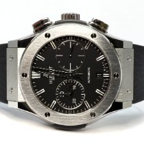 Hublot Classic Fusion Chronograph Titanium 45mm Black United Kingdom, Essex