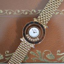 Chopard Happy Diamonds Żółte złoto 29mm Biały Bez cyfr