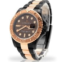 Rolex Yacht-Master 40 Gold/Steel 40mm Brown No numerals United Kingdom, London