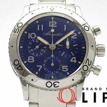 브레게 스틸 자동 파란색 39mm 중고시계