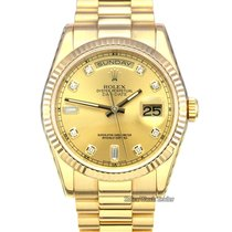 Rolex Day-Date 36 Yellow gold 36mm Champagne No numerals United Kingdom, Manchester