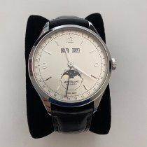 Montblanc Heritage Chronométrie pre-owned 40mm Silver Moon phase Date Weekday Month Fold clasp