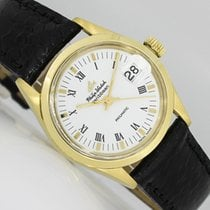 Philip Watch Caribe Yellow gold 30mm White Roman numerals