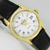 Philip Watch Caribe Oro amarillo 30mm Blanco Romanos