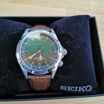 Seiko Spirit Acier 38mm Vert Arabes