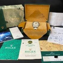 Rolex Explorer II Сталь 40mm Черный Без цифр