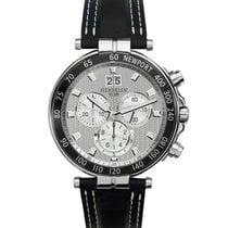 Michel Herbelin Newport Yacht Club new 2021 Quartz Chronograph Watch with original box and original papers 36655/AN12