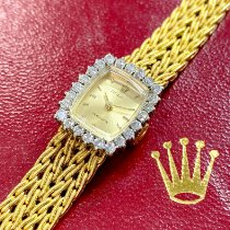 Rolex Very good Yellow gold 15mm Manual winding