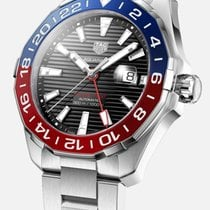 TAG Heuer Aquaracer 300M Steel 43mm Black No numerals United States of America, Texas, Houston