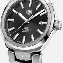 TAG Heuer Link Calibre 5 new 2020 Automatic Watch with original box and original papers WBC2110.BA0603