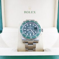 Rolex Submariner Date Steel 40mm Green No numerals UAE, Abu Dhabi