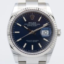 Rolex Datejust Stahl 36mm Blau Keine Ziffern Deutschland, Hamburg