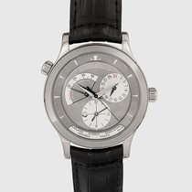 Jaeger-LeCoultre Master Geographic Weißgold Grau