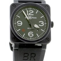 Bell & Ross BR 03-92 Ceramic новые Автоподзавод Часы с оригинальными документами и коробкой BR0392-MIL-CE