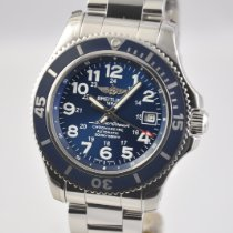 Breitling Superocean II 42 Steel 42mm Blue Arabic numerals United States of America, Ohio, Mason