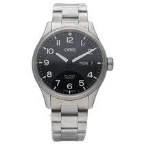 Oris Steel 45mm Automatic 01 752 7698 4194-Set MB new