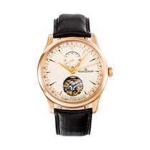 Jaeger-LeCoultre Master Grande Tradition Oro rosa 43mmmm Champán Arábigos