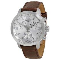 Tissot PRC 200 Steel 42mmmm Silver No numerals