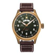 IWC Pilot Spitfire UTC новые Автоподзавод Часы с оригинальными документами и коробкой IW327101