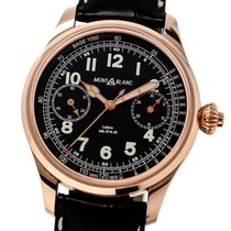Montblanc 112637 Rose gold 2015 44mm pre-owned