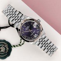Rolex Lady-Datejust Acero y oro 31mm Violeta