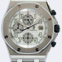 Audemars Piguet Royal Oak Offshore Chronograph Acciaio 42mm Argento Arabi Italia, FORTE DEI MARMI (LU)