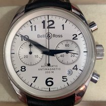 Bell & Ross Vintage Steel 40mm Arabic numerals Singapore, Singapore
