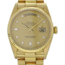 Rolex Day-Date 36 Yellow gold Champagne United States of America, New York, New York