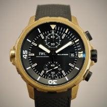 IWC Aquatimer Chronograph Bronce 44mm Negro Sin cifras