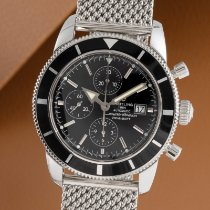 Breitling Superocean Heritage Chronograph Steel 46mm Black