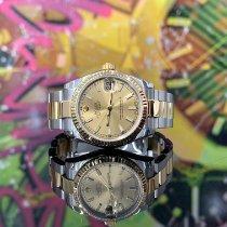 Rolex Lady-Datejust Or/Acier 31mm Noir France, Paris