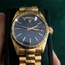 Rolex Day-Date Or jaune 36mm Argent Sans chiffres France, nice