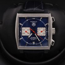 TAG Heuer Monaco Calibre 12 Steel 39mm Blue United States of America, California, Huntington Beach