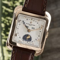 Vacheron Constantin Red gold Automatic Silver 33mm pre-owned Historiques