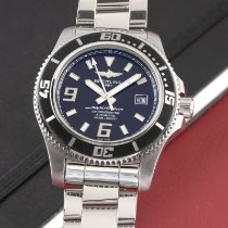 Breitling Superocean 44 occasion 44mm Noir Date Acier