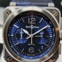 Bell & Ross Steel 42mm Automatic BR0394-BLU-ST/SCA pre-owned United States of America, Connecticut, Higganum