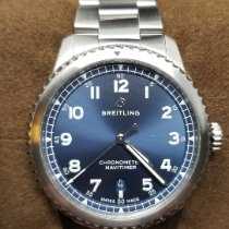 Breitling Navitimer 8 Steel 41mm Blue Arabic numerals United States of America, Connecticut, Higganum