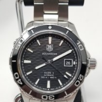 TAG Heuer Aquaracer 500M Steel 41mm Black No numerals