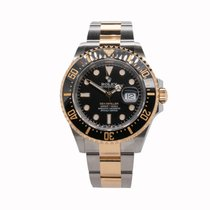 Rolex Sea-Dweller Gold/Steel 43mm Black No numerals United Kingdom, London